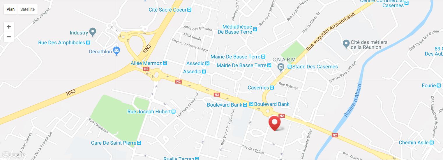 Localisation Eden Location